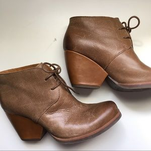 Korks lace-up ankle boots